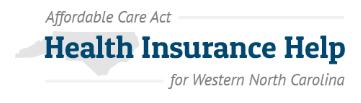 ACA HealthCare Help logo